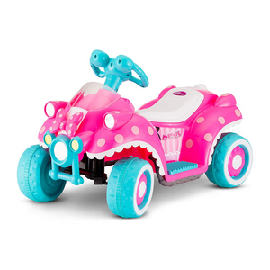 Kid Trax Ride-On Quad, 6V Battery-Powered Toy