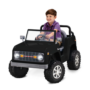 Classic Ford Bronco 6-Volt Ride-On Toy (3 Colors)