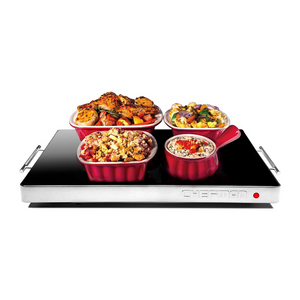Chefman Electric Warming Tray with Adjustable Temperature Control