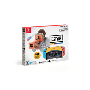 Nintendo Labo Toy-Con 04: VR Kit Starter Set + Blaster For Nintendo Switch