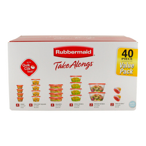 40 Rubbermaid TakeAlongs Food Storage Containers
