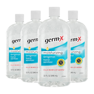 4 Big Bottles Of Germ-X Hand Sanitizer
