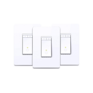 3-Pack TP-Link Kasa Smart Dimmer WiFi Light Switch