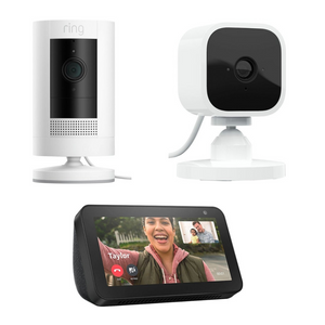 Ring Stick Up Cam, Echo Show 5, Blink Mini Camera And TP-Link Smart Plug