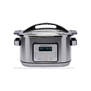 Instant Pot Aura Pro 11-in-1 Multicooker Slow Cooker, 8 Qt