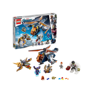 482-Piece LEGO Super Heroes Avengers Hulk Helicopter Rescue Set