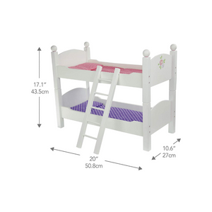 Olivia's Little World - Princess 18-Inch Doll Double Bunk Bed