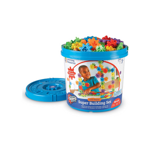 150 Pieces Learning Resources Gears! Gears! Gears! Super Building Toy Set