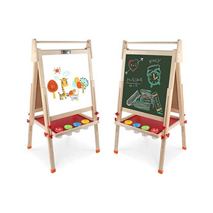 Kids Wooden Double-Sided Art Easel