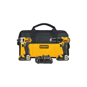 DEWALT 20V MAX Impact Driver And Drill Combo Kit