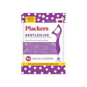 Pack Of 90 Plackers Gentleslide Dental Floss Picks