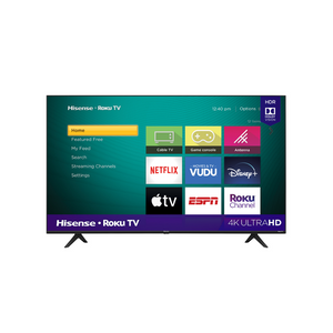 Hisense 58″ Class 4K UHD LED Roku Smart TV
