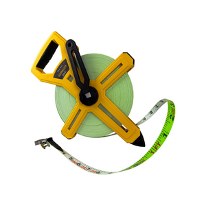 Komelon Open Reel Fiberglass 300′ Tape Measure