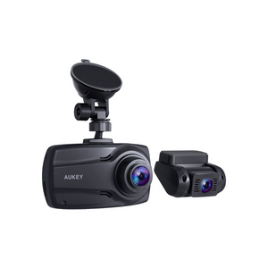 Aukey Front and Rear 1080P Dash Cams With Supercapacitor