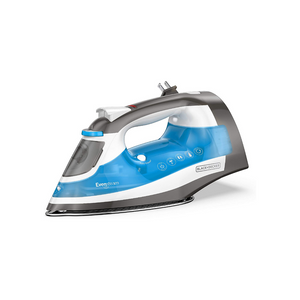 Black+Decker One Step Steam Iron With Stainless Nonstick Soleplate