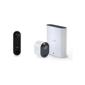 Arlo Ultra 4K UHD Wire-Free Security Camera + Arlo Video Doorbell