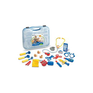 19-Piece Learning Resources Pretend/Play Doctor Kit for Kids