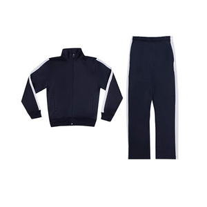 Boys Athletic Pants and Jacket Sweatsuit Set (4 Colors)