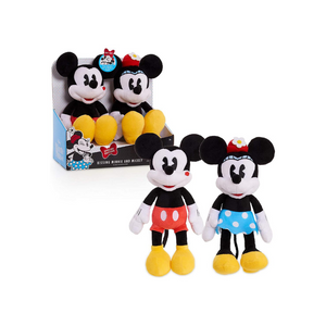Classic Mickey & Minnie Kissing Plush