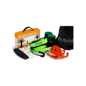 55% off flybold Slackline and Ninja Obstacle Kits