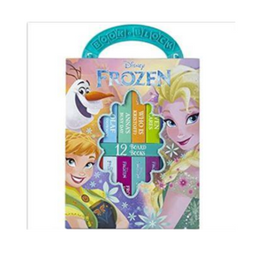 12-Book Set: Disney Frozen My First Library Board Book Set
