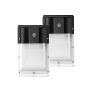 2 Outdoor Security LED Wall Lights