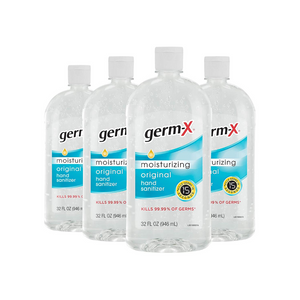 4 Bottles Germ-X Hand Sanitizer
