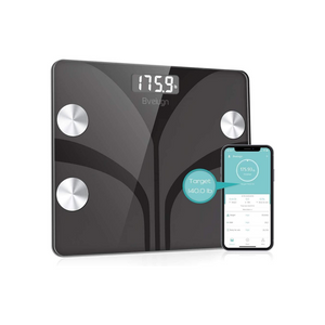 Body Fat Scale, Smart Wireless Digital Bathroom BMI Weight Scale