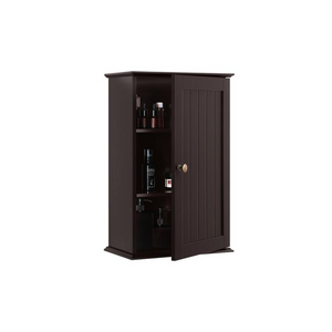 3 Tiers Wall Mounted Cabinet Storage Door Cabinet