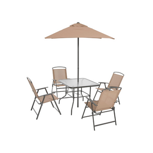 6 Piece Outdoor Patio Dining Set