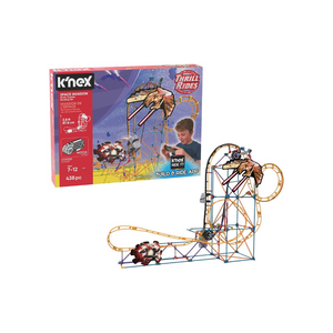 K'NEX Thrill Rides 438 Piece Space Invasion Roller Coaster Building Set