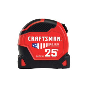 Craftsman PRO-11 25′ Tape Measure
