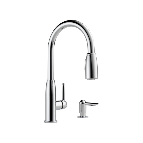 Peerless Core Kitchen Single Handle Pull-Down Faucet