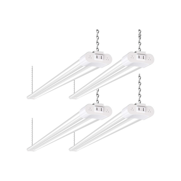 4 Pack 4FT Linkable LED Shop Lights