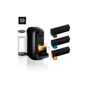 Nespresso Breville VertuoPlus Coffee And Espresso Maker And 30 Capsules