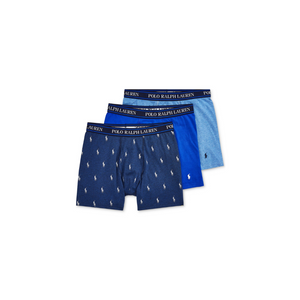 3-Pack Polo Ralph Lauren Men's Stretch Boxer Briefs