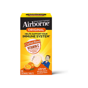 96-Count Airborne Original Immune Support Chewable Tablets (Citrus)