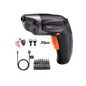 Cordless Electric Screwdriver With 33 Accessories