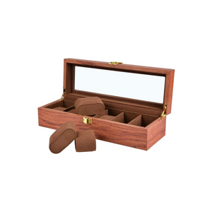 6 Slot Wooden Watch Box