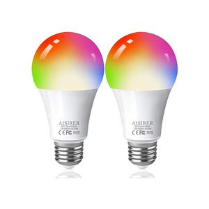 2 Color Changing Smart LED Bulbs