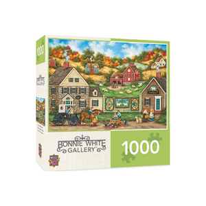 1,000-Pc MasterPieces Hometown Gallery Jigsaw Puzzle