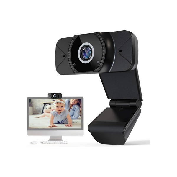 2 Full HD 1080p Webcam with Microphones