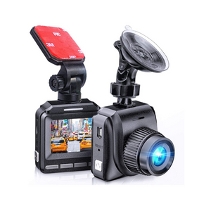 1080p Dash Cam With Night Vision And Wide Angle Recording