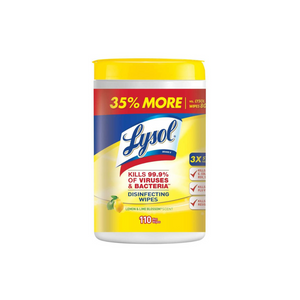 110 Lysol Disinfecting Wipes