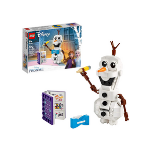 Lego Disney Frozen II Olaf Snowman Toy Figure Building Kit