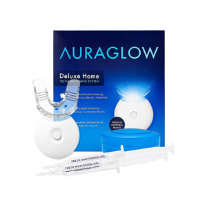 30% off AuraGlow Teeth Whitening Products