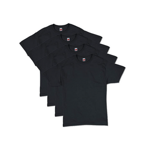 4 Hanes Men's ComfortSoft Short Sleeve T-Shirts