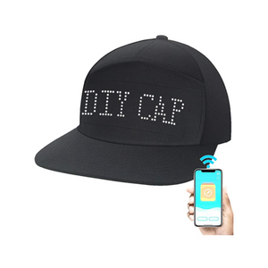 Baseball Party Cap With LED Lights And Bluetooth App