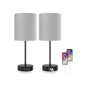 2 Dimmable Touch Control Lamps