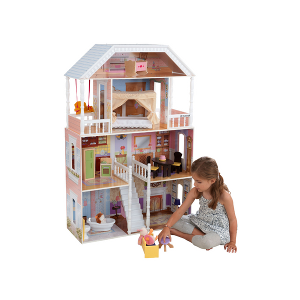 KidKraft Savannah Dollhouse With 14 Accessories